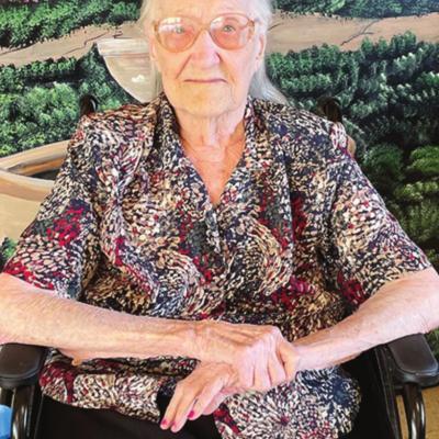 Sylvia Krantz marks 100 th birthday