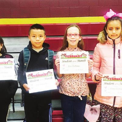 Fourth-graders named top students