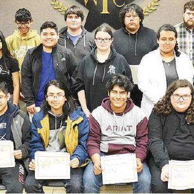 Clinton students' accomplishments rewarded