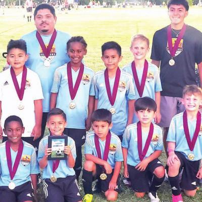 Western Oklahoma FC U9 earns first place finish
