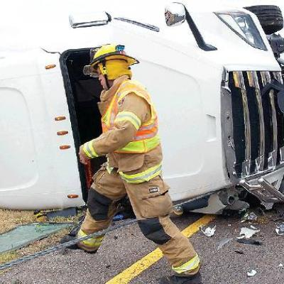 Cable barriers stop semi, possibly save lives