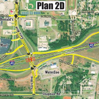 ODOT selects Exit 65-65A plan