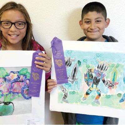 Washington Elementary art students win state fair awards