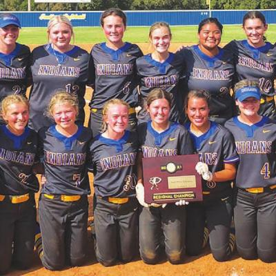 Lady Indians are state bound