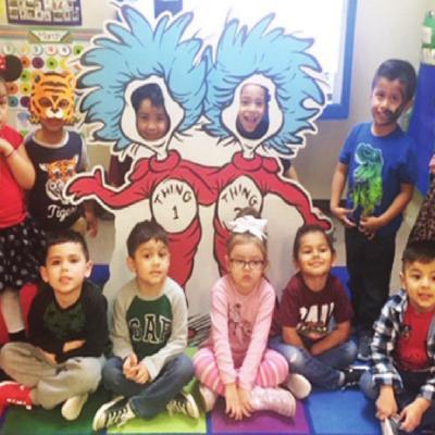 Kids have storybook fun