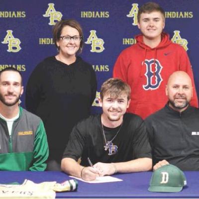 Arapaho-Butler's Zach Carlisle signs with USAO baseball