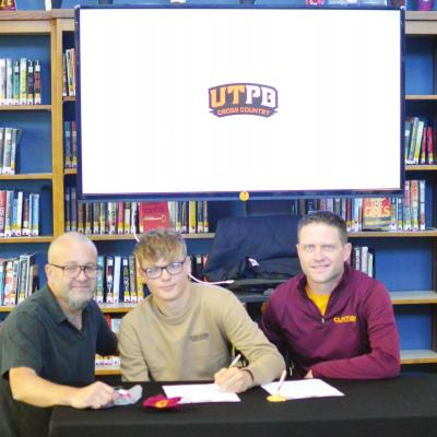 West signs with UTPB cross country