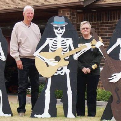 Halloween 'rock concert' held