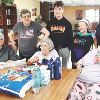 Kids give back to seniors
