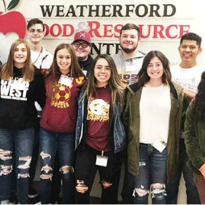 Students volunteer for worthy cause