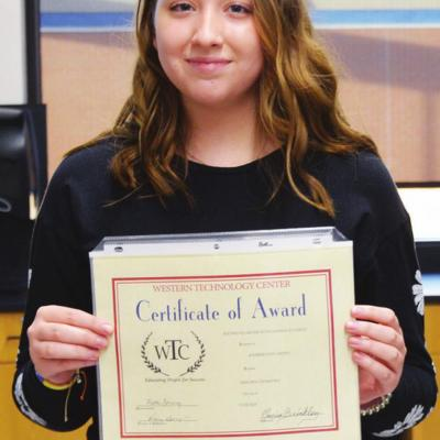 More WTC students honored