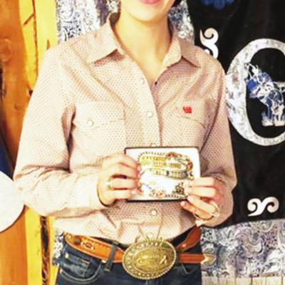 More Clinton Roundup Club Rodeo buckle winners