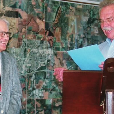 Clinton City Council honors Gerald Green