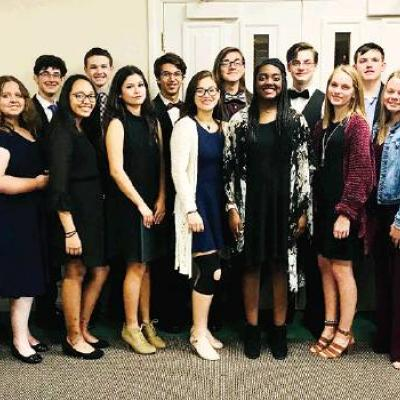 Clinton vocalists perform with Honor Choir