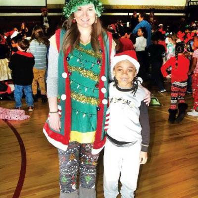 Music, celebrations raise holiday spirits at Nance Elementary