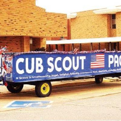 Parade float ready for next year