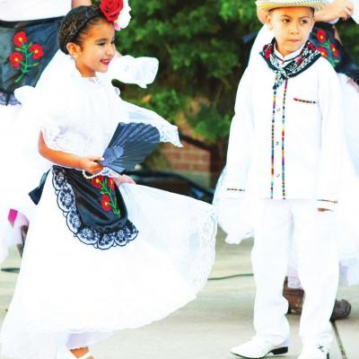 Traditional folklore dancing