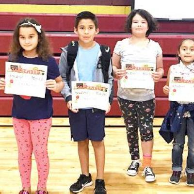 Southwest Elementary students recognized for achievements