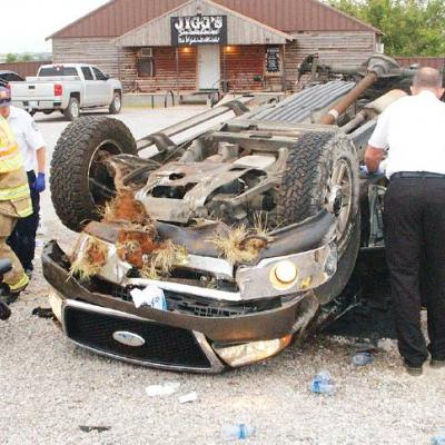 Injuries less than feared in I-40 crash