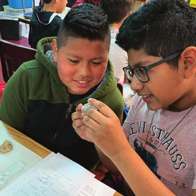 WES students learn 'hard' lessons