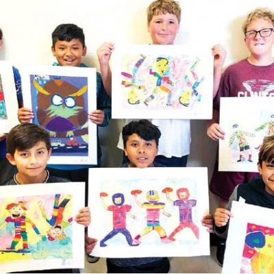 Clinton artists win at state fair