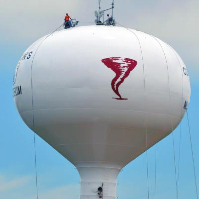 Water tower given character