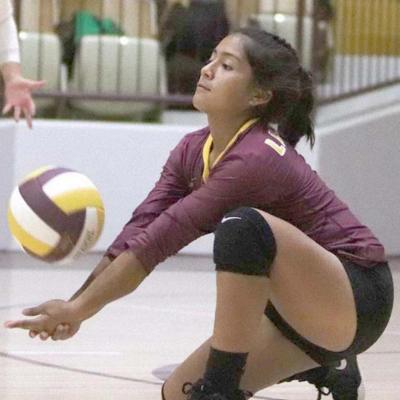 Lady Reds volleyball ends season