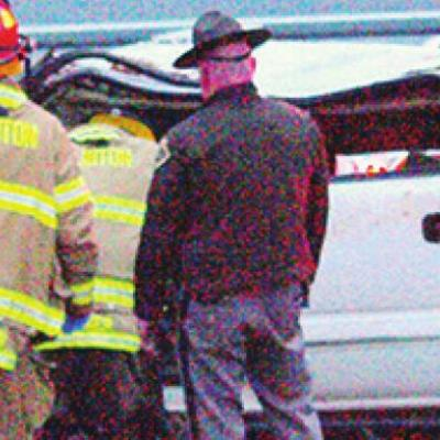One dies, four injured in area accidents