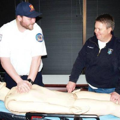 Lifesaving skills taught by experts