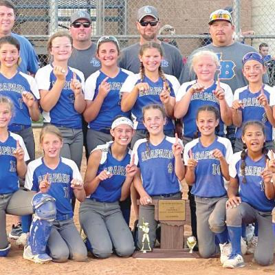 Lady Indians win 12U state title