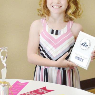 Youngster headed to national pageant
