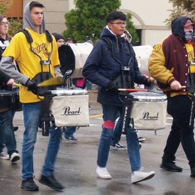 Musicians in step for Homecoming