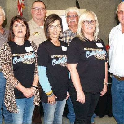 Custer County Officers host fellows
