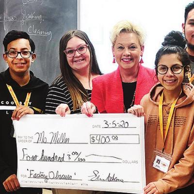 Miller awarded CPSF grant