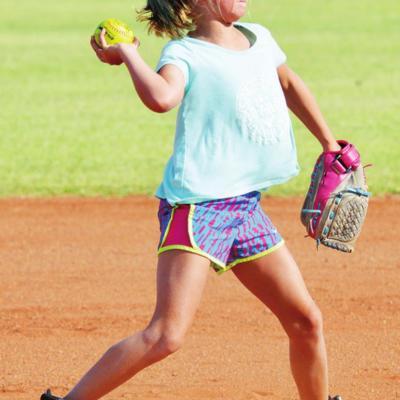 Clinton girls' softball league ramps up