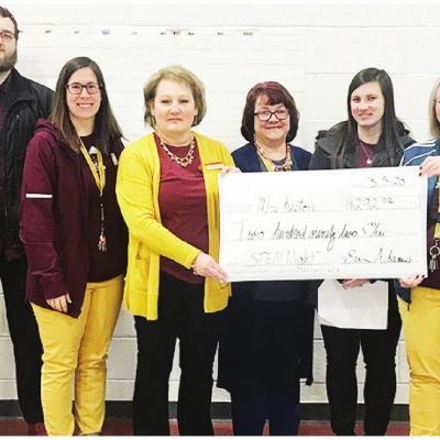Teachers receive CPSF grant