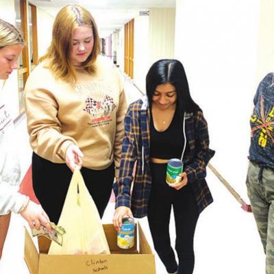 School food drive underway