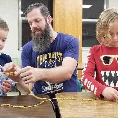 Cub Scouts learn valuable skills
