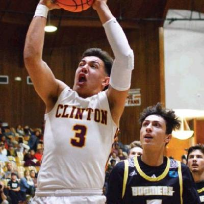 Clinton basketball splits first-round tourney games