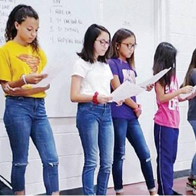 Student council leads Pledge