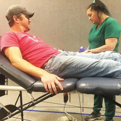 Blood drive Tuesday; supply low