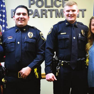 Two Clinton police officers promoted to sergeant