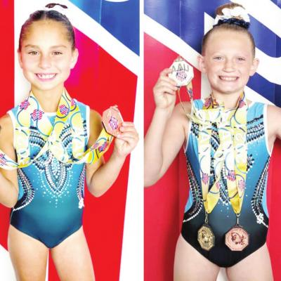 Area gymnasts bring home Junior Olympic medals