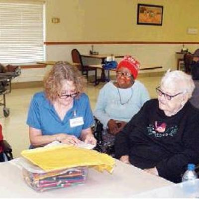 Grace residents hold devotionals