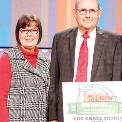 Cralls recognized by Farm Bureau