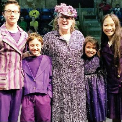 Whimsical 'Seussical the Musical' nears opening-night performance