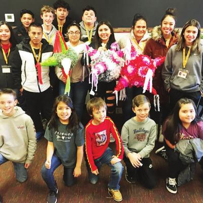 CHS Spanish students spread tradition