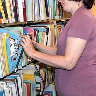 Librarian takes stock