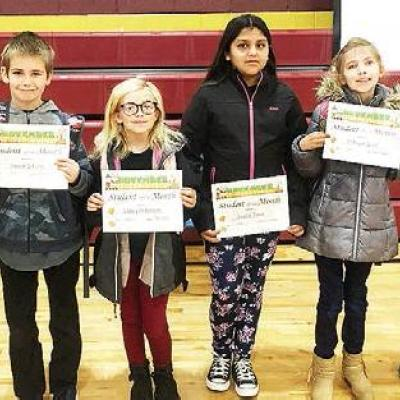 Students rewarded for good work