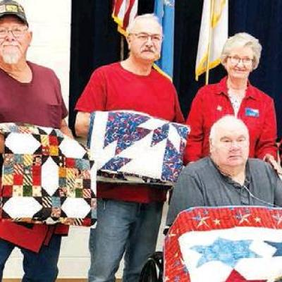 Local veterans honored for service